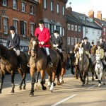 Grantham Mayor presented with anti-Belvoir Hunt meet petition