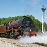 Steam train through town tomorrow (Sunday)