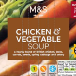 M&S Foods recall soup