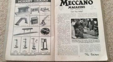 Were you a Meccano mechanic?